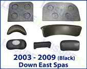 Master Spas Down East Pillows 2003-2009