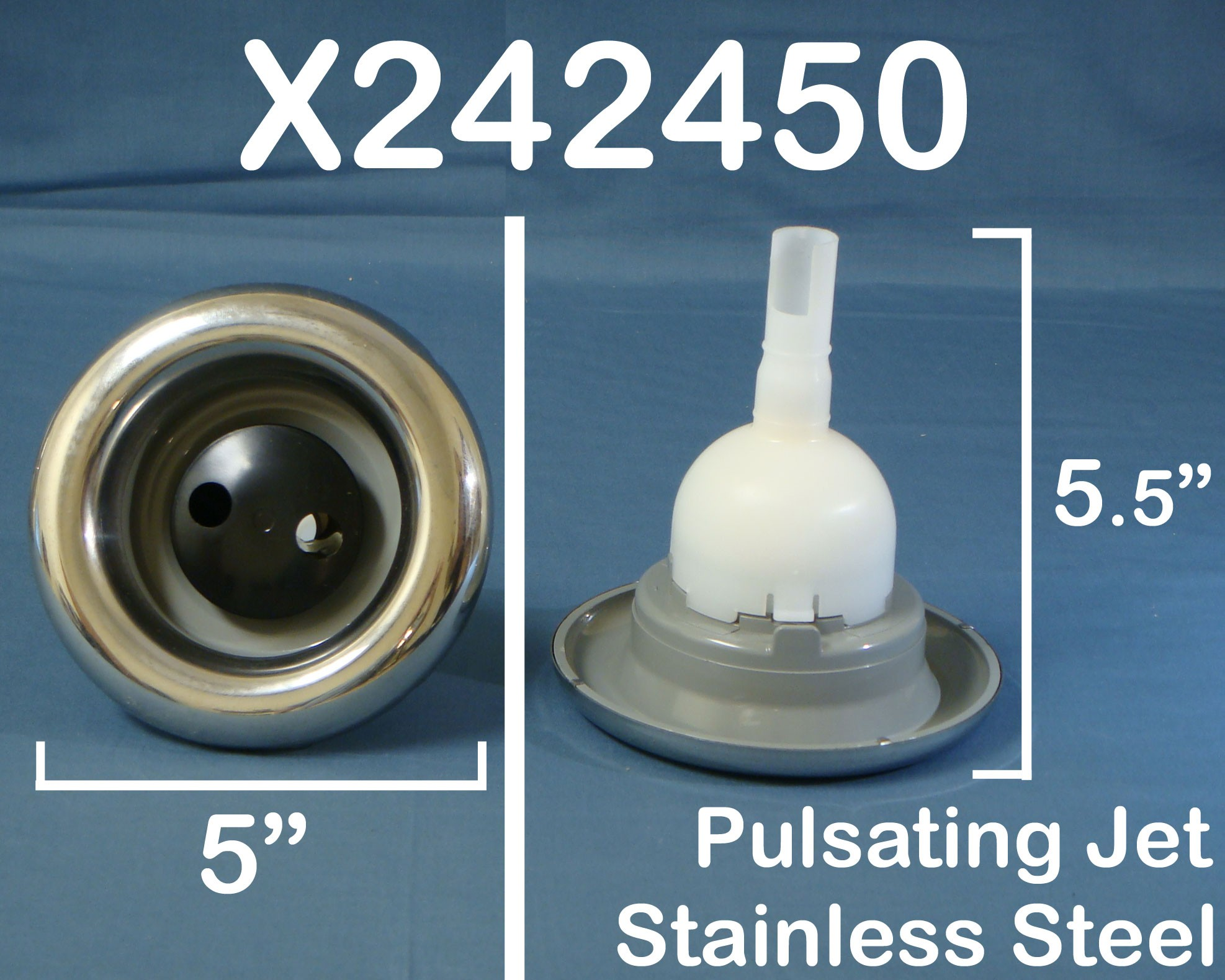 5 in. Pulsator DISCONTINUED Refer To Part X242410