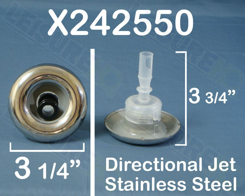 3.25 in. Micro Cyclone Directional Stainless Jet, x242550