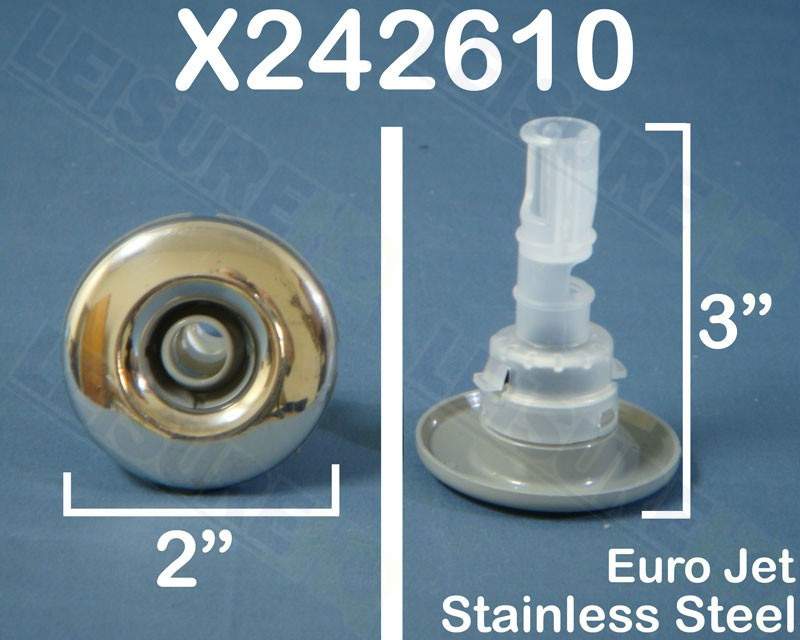 2 in. Euro Stainless Jet, x242610