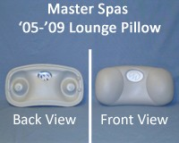 Master Spas: Legend Series 2005-2009 Lounge Pillow, x540711