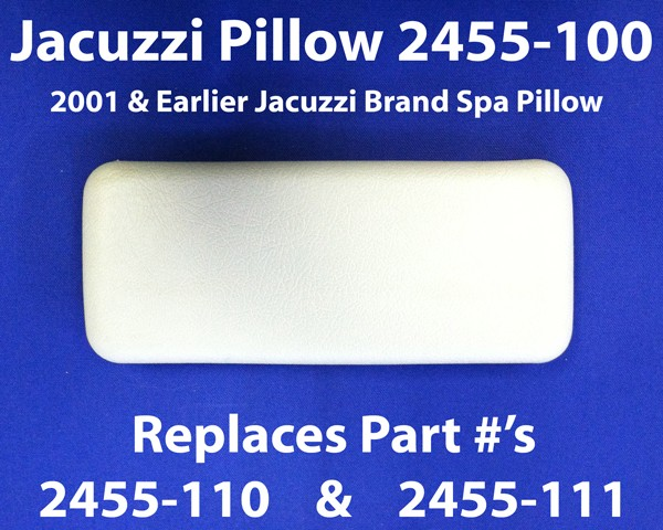 JACUZZI® Spa Pillow 2001 And Prior, 2455-100