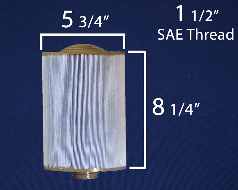 6CH-940 or PWW50 in Microban Screw-in Filter