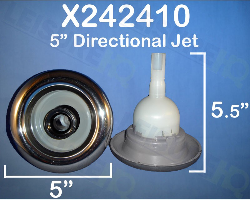 5 in. Cyclone Directional Stainless Jet, x242410