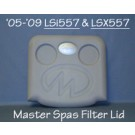 LSi557 & LSX557 2005-2009 Pillow Filter Lid, X540717